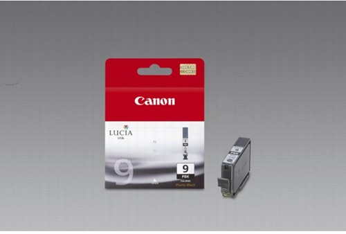 Canon inktcartridge PGI-9PBK, 530 pagina's, OEM 1034B001, zwart photo