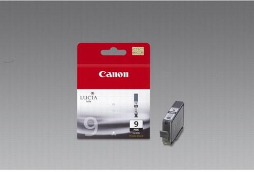 Canon inktcartridge PGI-9PBK foto zwart, 530 pagina's - OEM: 1034B001