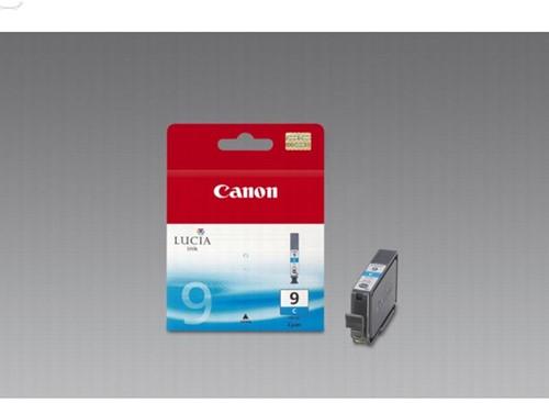 Canon inktcartridge PGI-9C, 1.150 pagina's, OEM 1035B001, cyaan