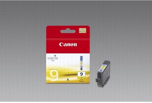 Canon inktcartridge PGI-9Y geel, 930 pagina's - OEM: 1037B001
