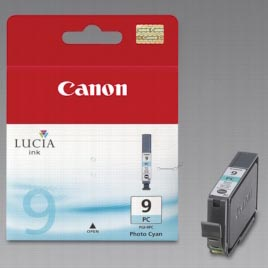 Canon inktcartridge PGI-9PC, 1.150 pagina's, OEM 1038B001, licht cyaan