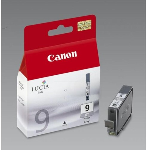 Canon inktcartridge PGI-9GY, 1.150 pagina's, OEM 1042B001, grijs