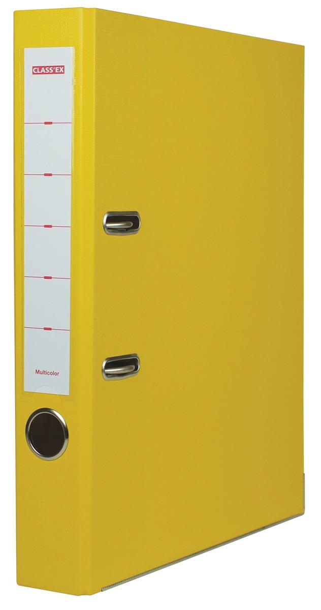 Class'ex ordner Multicolor, rug van 5 cm, geel