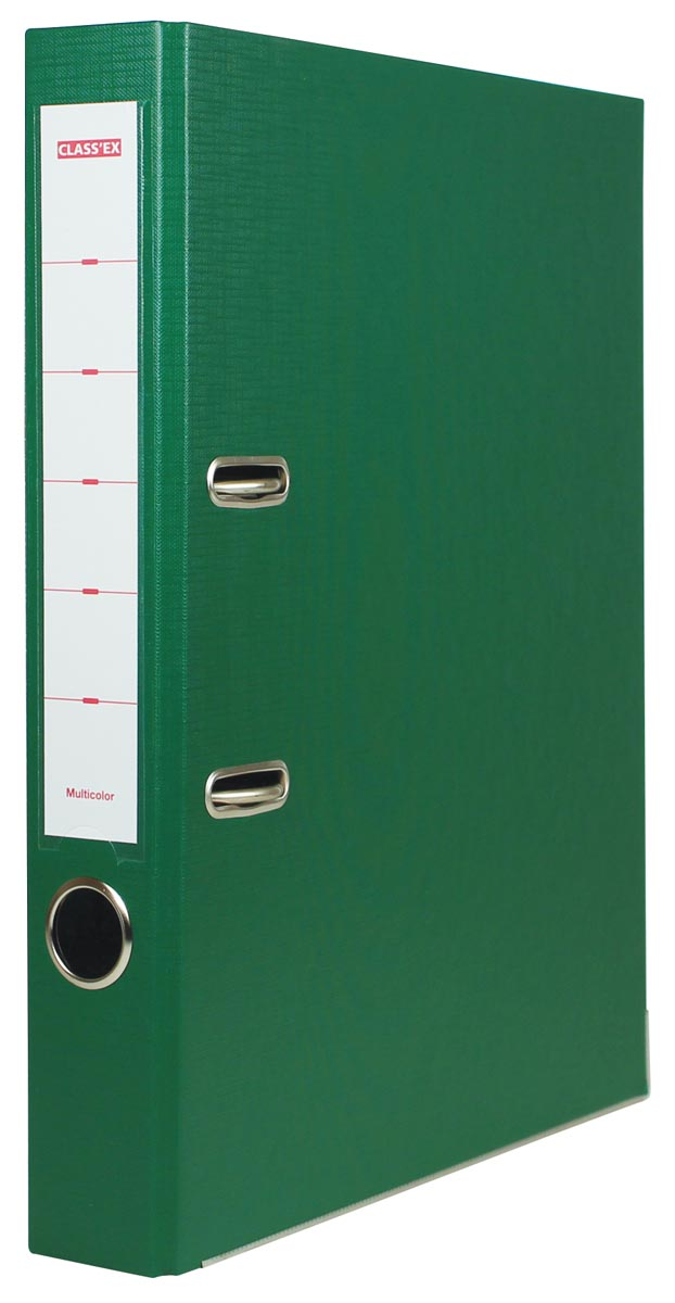 Class'ex ordner Multicolor, rug van 5 cm, groen