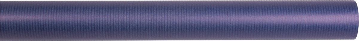 Unicolor kraft kaftpapier blauw op rol 2 x 0,7 m