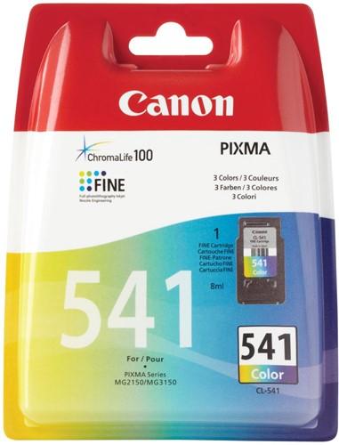 Canon inktcartridge CL-541, 3 kleuren, 180 pagina's, OEM 5227B005, 3 kleuren