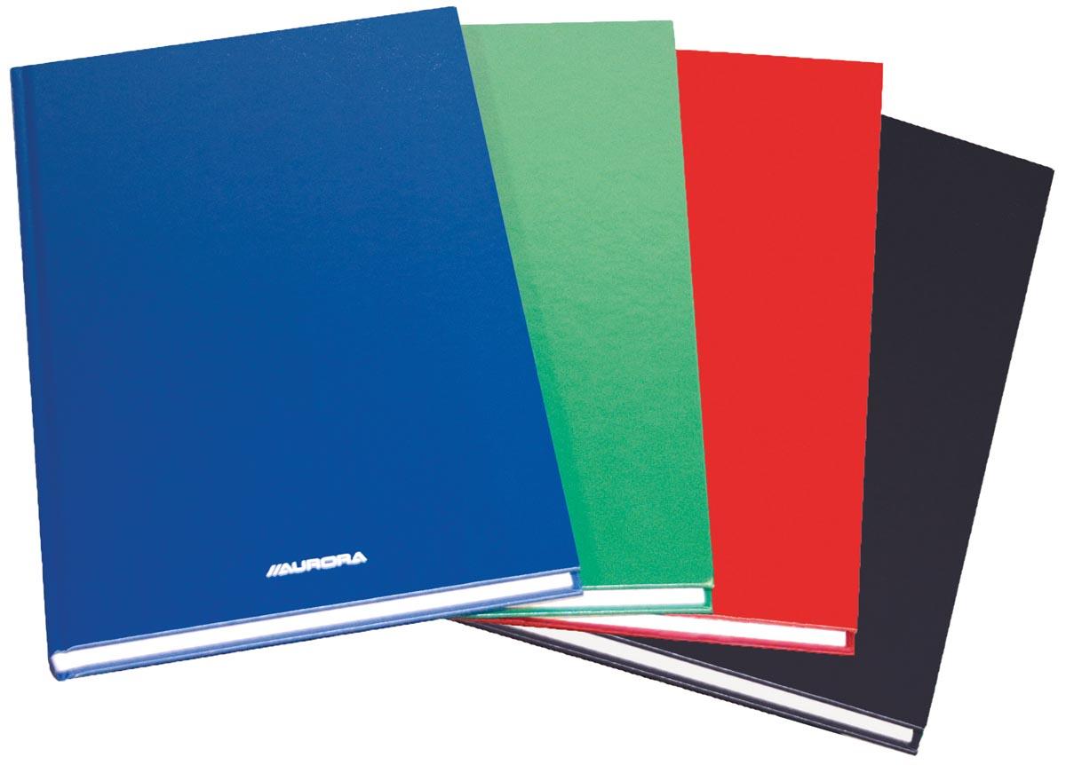 Magazijnboek ft 21,5x33,5 cm - 2 hand = 192 blz - geruit 5 mm