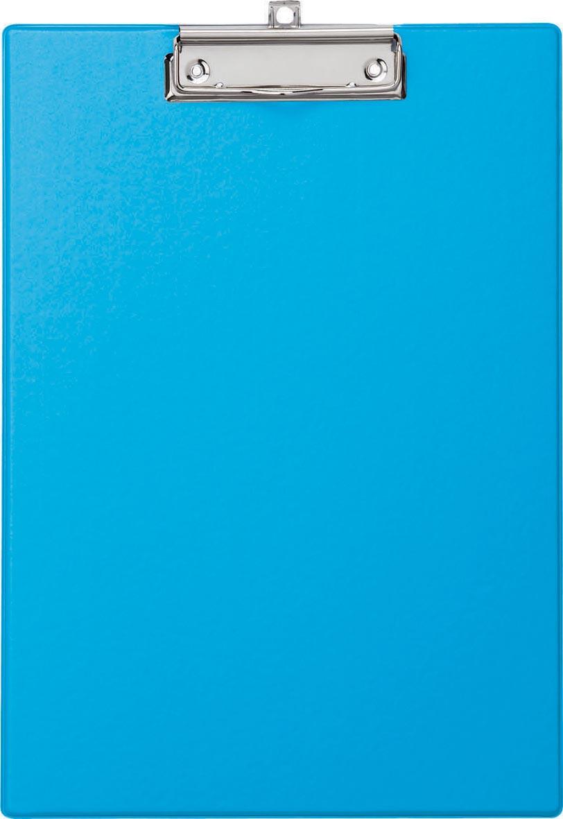 Maul klemplaat, uit PP, voor ft A4, lichtblauw