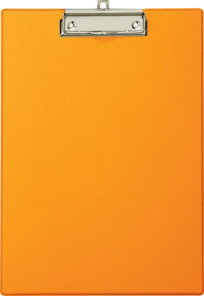 Maul klemplaat, uit PP, voor ft A4, oranje