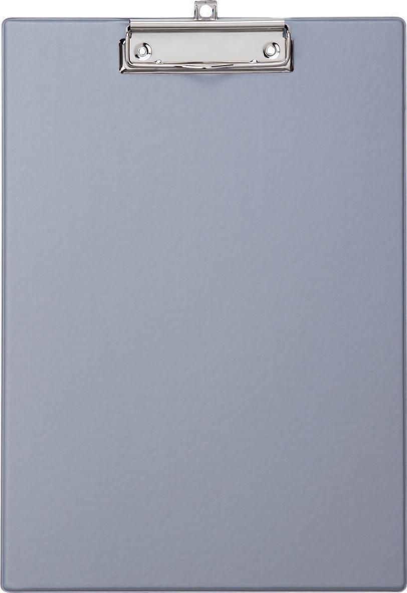 Maul klemplaat, uit PP, voor ft A4, zilver