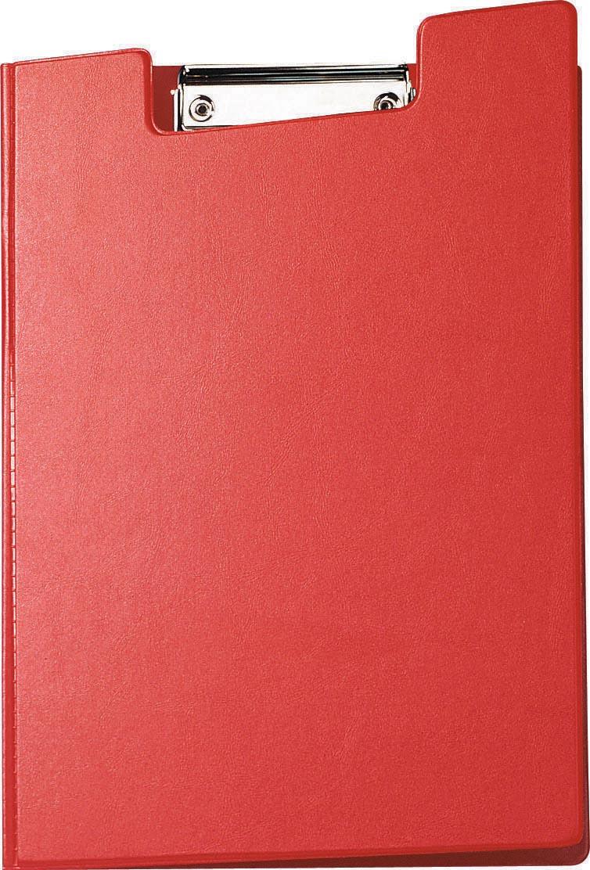 Maul klemmap met insteekmap, uit PP, voor ft A4, rood