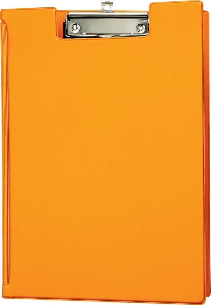 Maul klemmap met insteekmap, uit PP, voor ft A4, oranje