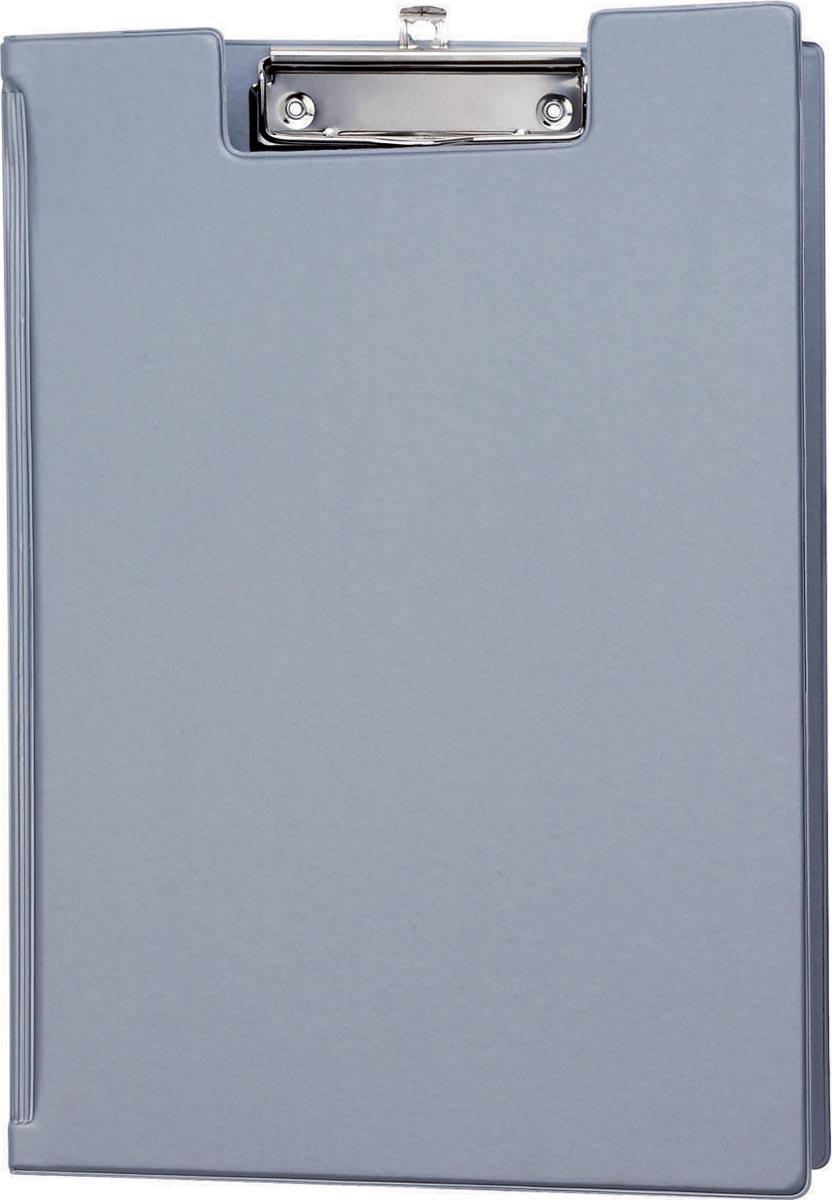 Maul klemmap met insteekmap, uit PP, voor ft A4, zilver