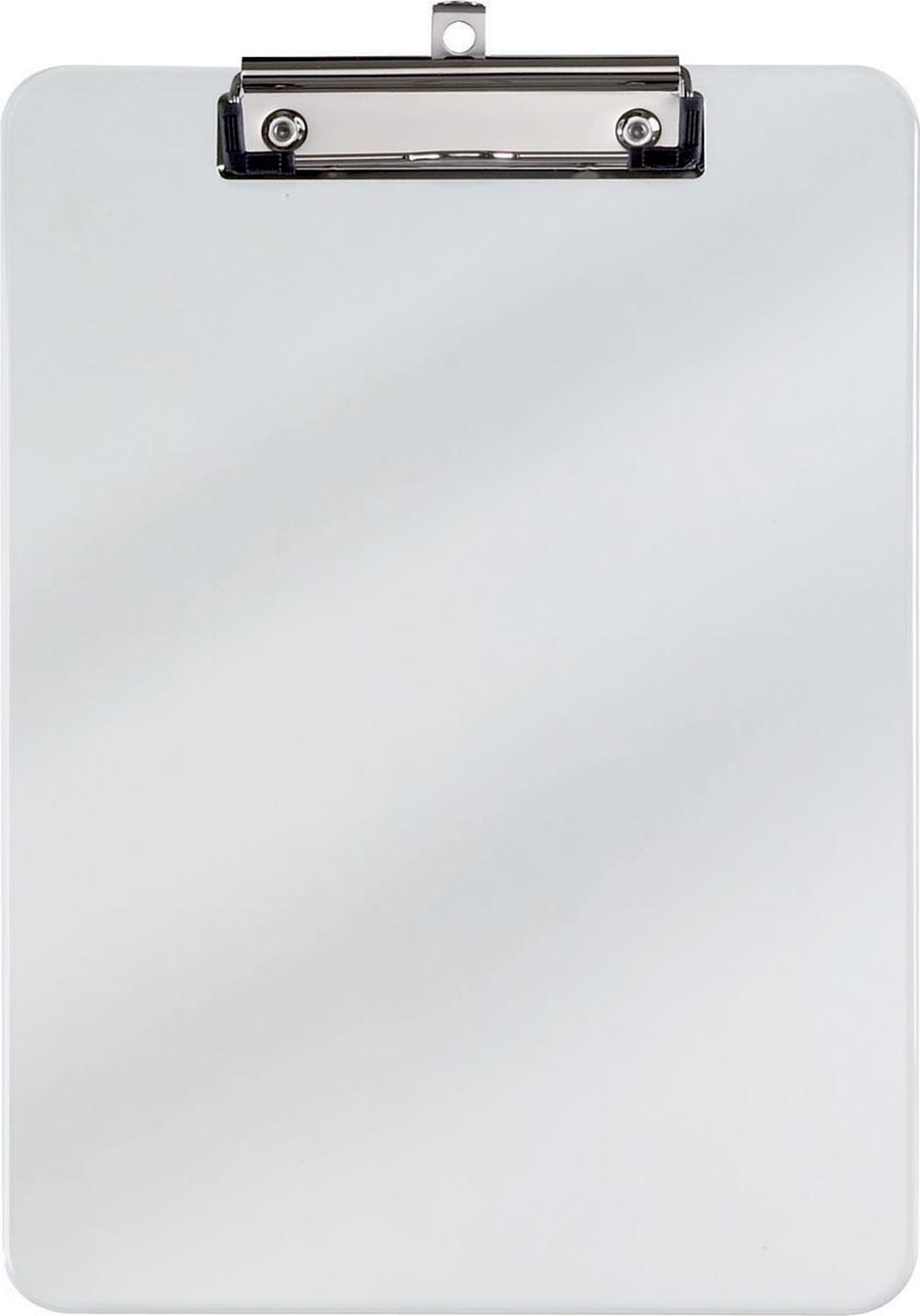 Maul klemplaat, kunststof, voor ft A4, transparant
