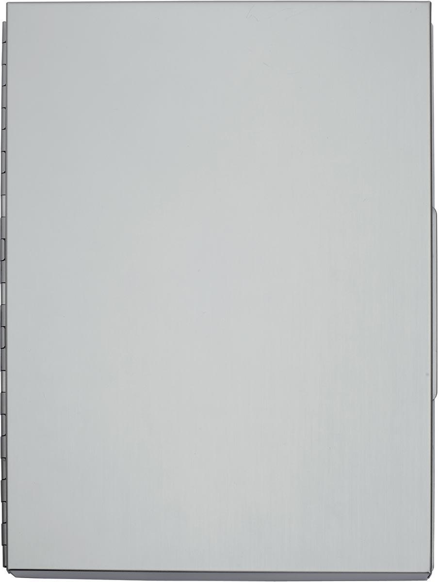Maul klemmap MAULassist ft A4, aluminium, zijopening