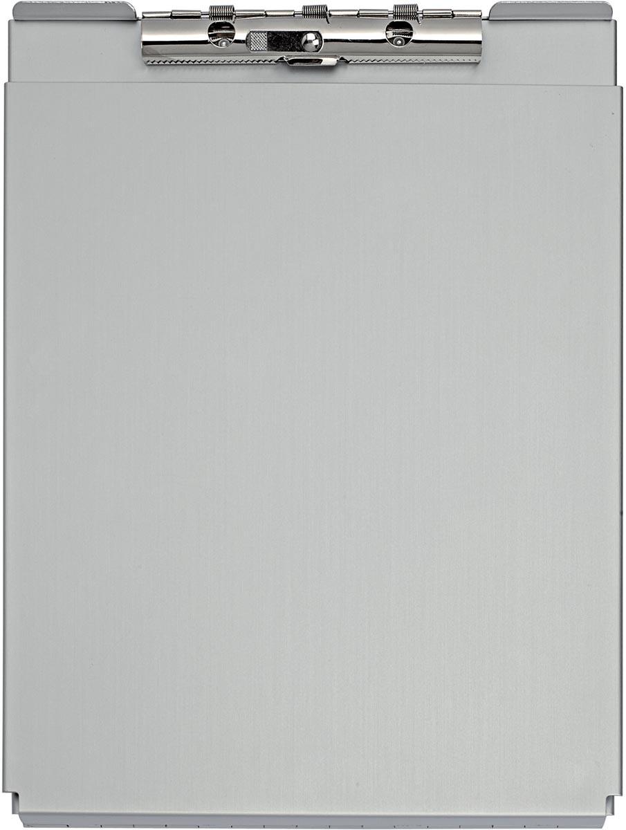Maul klemmap MAULcase ft A4, aluminium, topopening