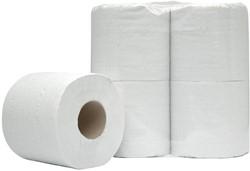 Europroducts toiletpapier, 2-laags, 480 vellen, pak van 60 rollen
