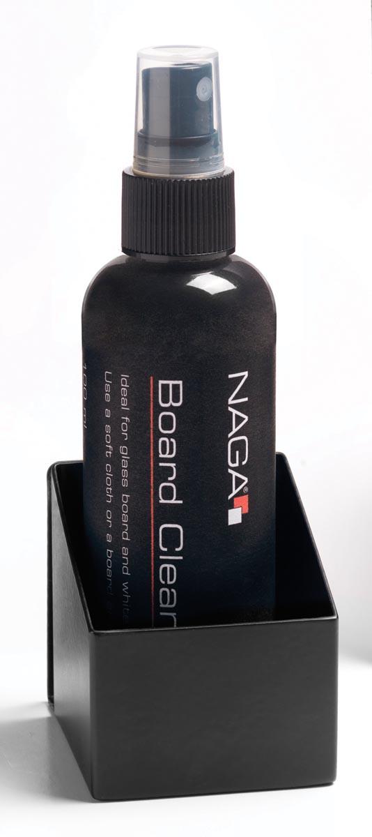 Naga reiniginspray met houder voor whiteboards.