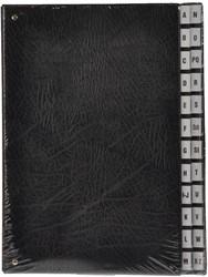 Class'ex sorteermap met letteraanduiding A-Z, zwart