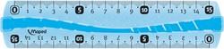 Maped lat onbreekbaar 15 cm, met dubbele graduatie