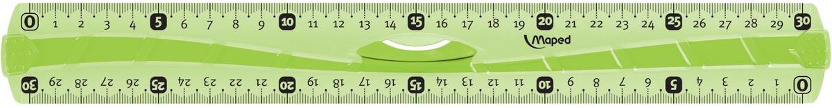 Maped decimeterlat Flex driedubbele decimeter, 30 cm