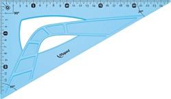 Maped winkelhaak onbreekbaar 26 cm, 60°, blauw