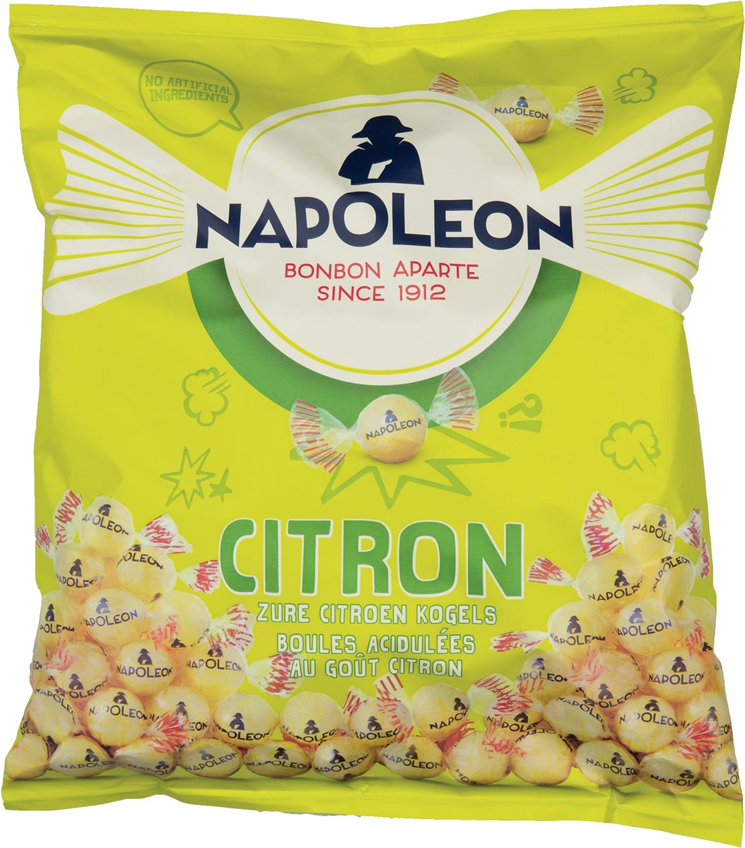 Napoleon snoepjes citroen, zak van 1 kg