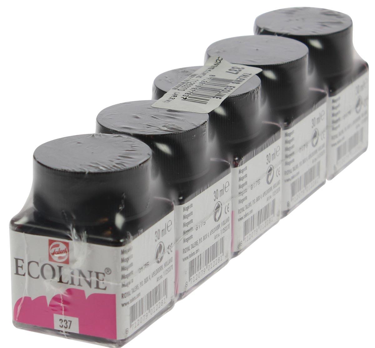 Talens Ecoline waterverf flacon van 30 ml, magenta