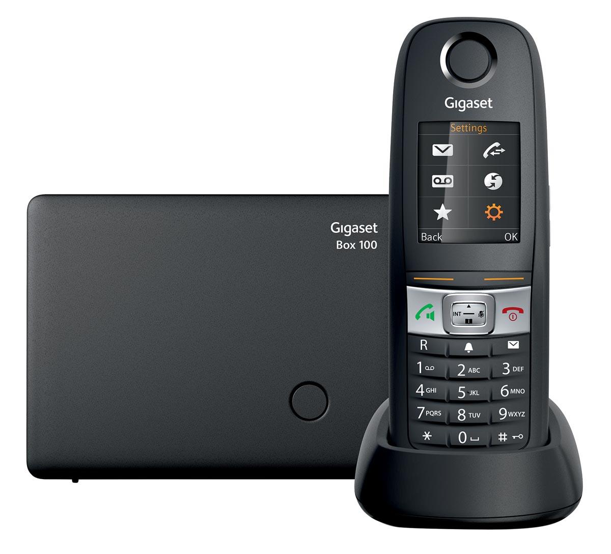 Gigaset E630 DECT draadloze telefoon, grijs