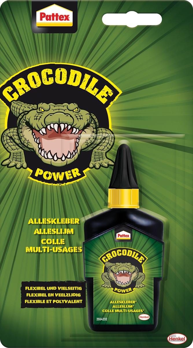 Pattex Crocodile Power alleslijm tube van 50 g op blister