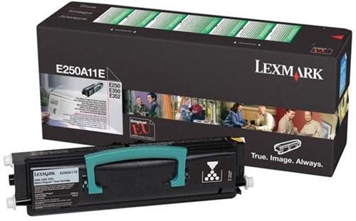 Lexmark Toner Kit return program - 3500 pagina's - E250A11E