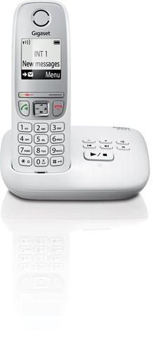 Gigaset A415 DECT draadloze telefoon met antwoordapparaat, wit