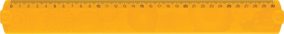 Maped lat GeoCustom 30 cm etui met 1 stuk