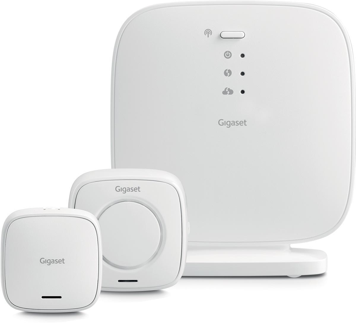 Gigaset Smart Home security pack met basisstation, universele raam- en deursensor en sirene