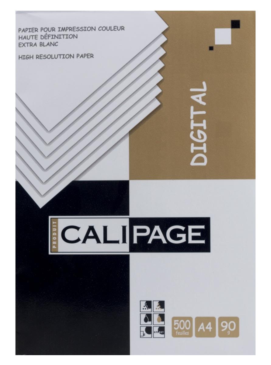 Calipage printpapier Digital, ft A4, 90 g, pak van 500 vel