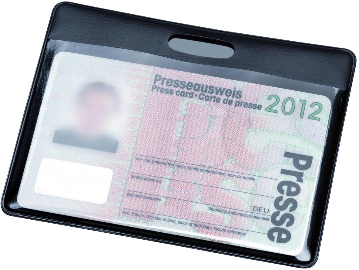Hidentity kaarthouder, ft 90 x 60 mm, zwart bij VindiQ Office