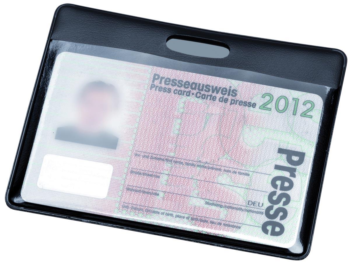 Hidentity kaarthouder, ft 90 x 60 mm, zwart