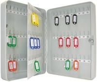 Wedo sleutelkast voor 110 sleutels, ft 28 x 8 x 37 cm, grijs-2