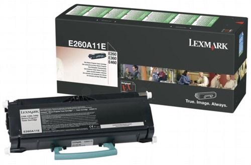 Lexmark Toner Kit return program - 3500 pagina's - E260A11E