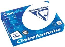 Clairefontaine Clairalfa presentatiepapier ft A4, 160 g, pak van 250 vel