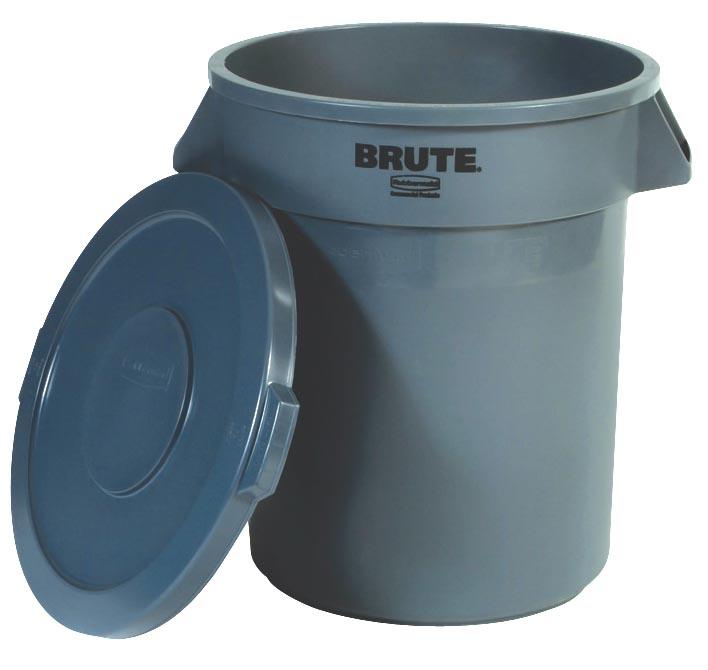 Rubbermaid deksel voor afvalcontainer Brute, grijs