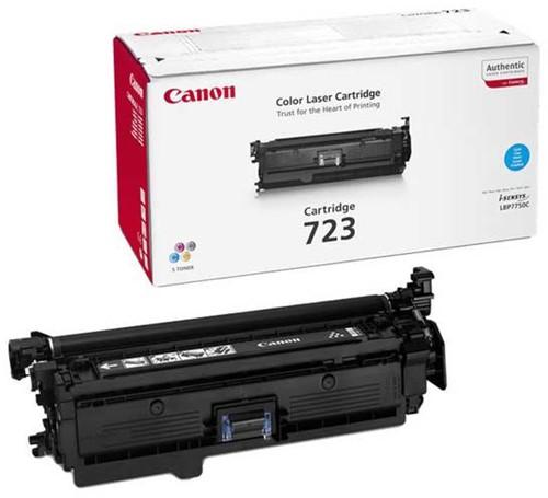 Canon toner 723C, 8.500 pagina's, OEM 2643B002, cyaan
