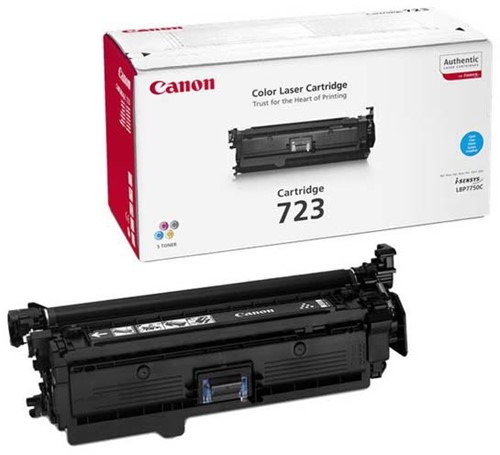 Canon Tonercartridge cyan 723C - 8500 pagina's - 2643B002