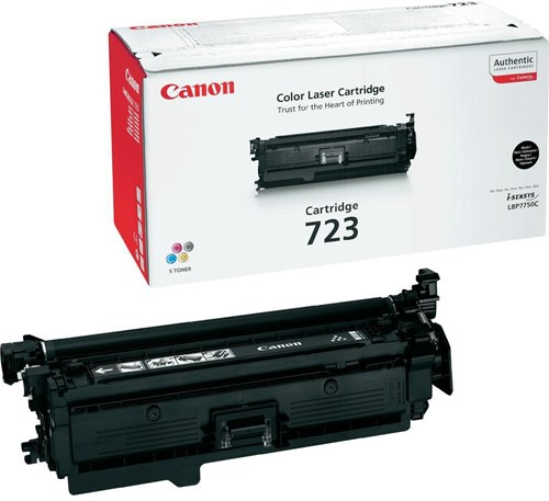 Canon toner 723BK, 5.000 pagina's, OEM 2644B002, zwart