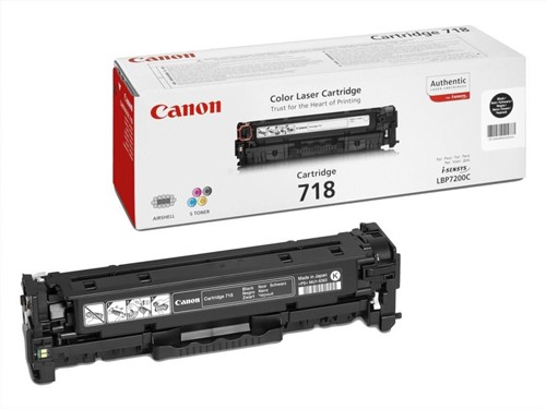 Canon toner 723H, 10.000 pagina's, OEM 2645B002, zwart