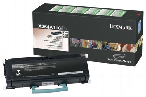 Lexmark Toner Kit return program - 3500 pagina's - X264A11G