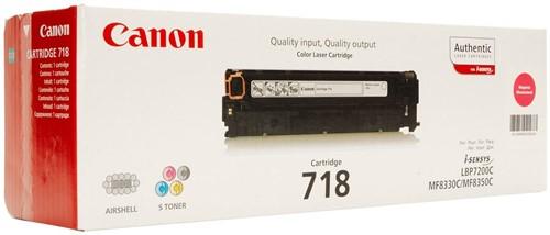 Canon Tonercartridge magenta 718M - 2900 pagina's - 2660B002