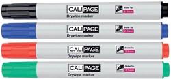 Calipage whiteboardmarker, etui van 4 stuks in geassorteerde kleuren