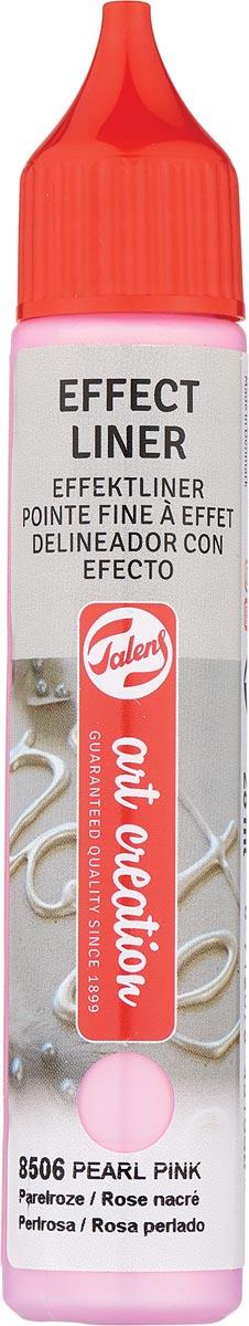 Talens Art Creation effect liner, parel roze