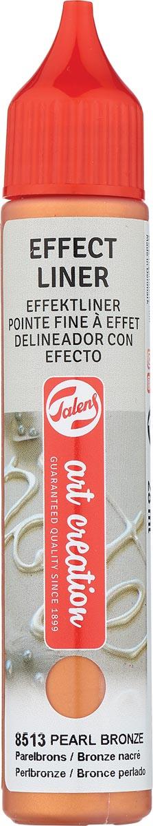 Talens Art Creation effect liner, parel brons